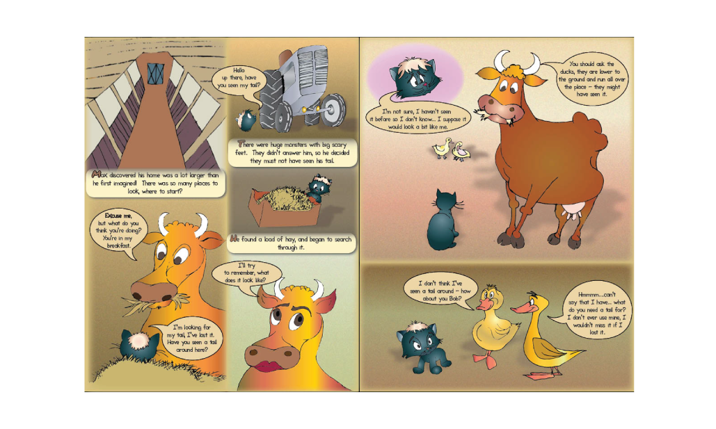 The Tails and Troubles of Max the Cat Graphic Novel